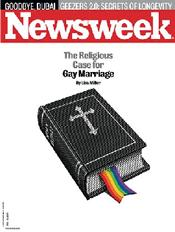Newsweek Author Promotes Gay Marriage