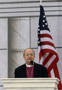 Bishop Robinson at Inaugural Prayer