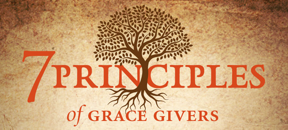 7 Principles of Grace-Givers (an infographic)