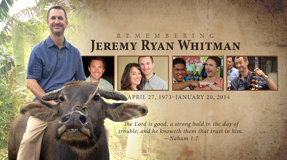 An Update on the Homegoing of Jeremy Whitman