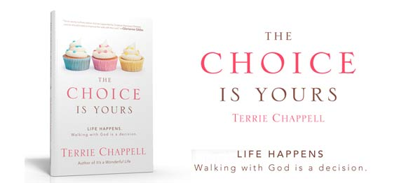 Terrie's New Book—The Choice Is Yours