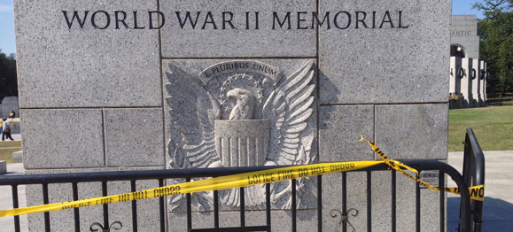 Government Shutdown, World War II Memorial, & First Amendment Rights