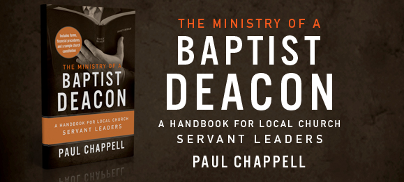 New Book: The Ministry of a Baptist Deacon