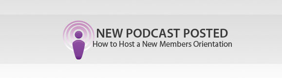 Spiritual Leadership Podcast: How to Host a New Members Orientation